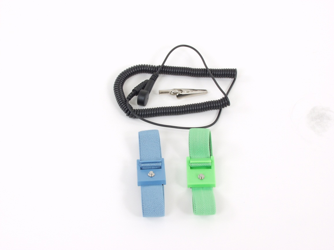 Static Solution WS-1020 Blue Adjustable Wrist Strap and Cord